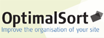 Optimal Sort logo